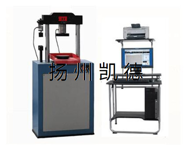 分析电子拉力试验机经常进行的几种试验